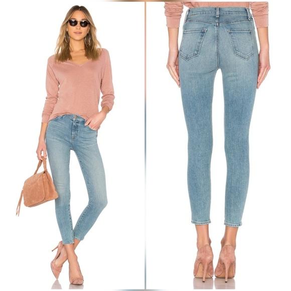 a7e9e11e35ed1 J Brand Alana High Rise Crop Skinny Jeans in Surge